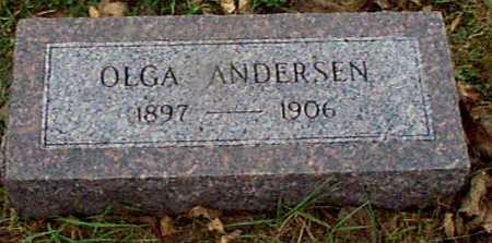 ANDERSEN, OLGA - Shelby County, Iowa | OLGA ANDERSEN