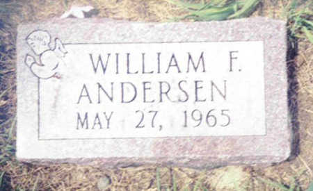 ANDERSEN, WILLIAM F. - Shelby County, Iowa | WILLIAM F. ANDERSEN