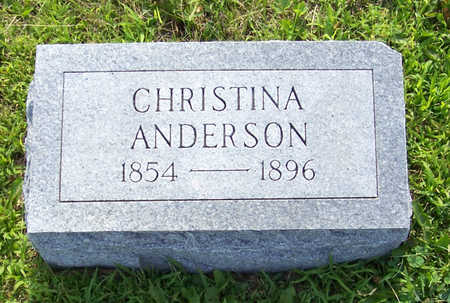 ANDERSON, CHRISTINA - Shelby County, Iowa | CHRISTINA ANDERSON
