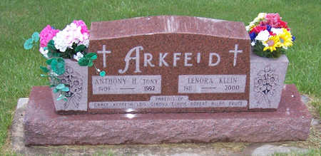 ARKFELD, ANTHONY H. - Shelby County, Iowa | ANTHONY H. ARKFELD