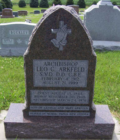 ARKFELD, ARCHBISHOP LEO C. - Shelby County, Iowa | ARCHBISHOP LEO C. ARKFELD