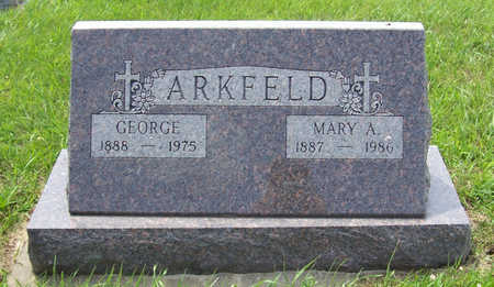 ARKFELD, GEORGE - Shelby County, Iowa | GEORGE ARKFELD