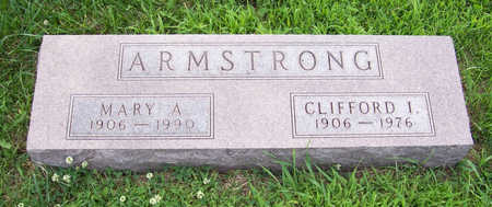 ARMSTRONG, CLIFFORD I. - Shelby County, Iowa | CLIFFORD I. ARMSTRONG