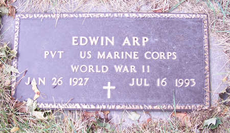 ARP, EDWIN (MILITARY) - Shelby County, Iowa | EDWIN (MILITARY) ARP