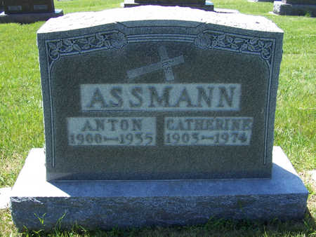ASSMANN, CATHERINE - Shelby County, Iowa | CATHERINE ASSMANN