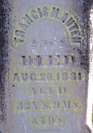 AUTEN, FRANCIS M. (CLOSE-UP) - Shelby County, Iowa | FRANCIS M. (CLOSE-UP) AUTEN