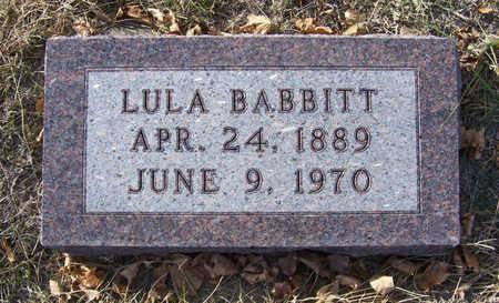 BABBITT, LULA - Shelby County, Iowa | LULA BABBITT