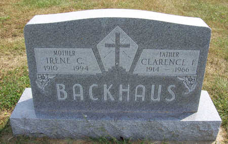 BACKHAUS, CLARENCE F. (FATHER) - Shelby County, Iowa | CLARENCE F. (FATHER) BACKHAUS