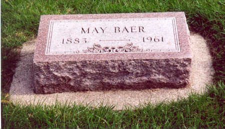 BAER, MAY - Shelby County, Iowa | MAY BAER