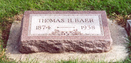 BAER, THOMAS - Shelby County, Iowa | THOMAS BAER