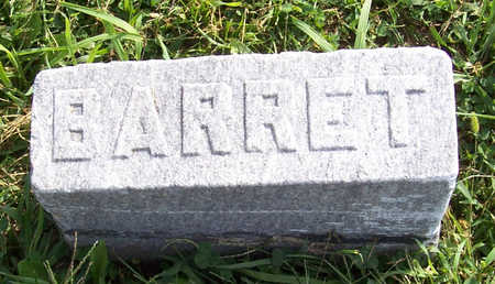 BARRET, ? - Shelby County, Iowa | ? BARRET