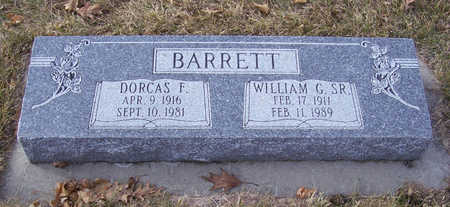 BARRETT, WILLIAM G., SR. - Shelby County, Iowa | WILLIAM G., SR. BARRETT