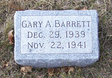 BARRETT, GARY A. - Shelby County, Iowa | GARY A. BARRETT