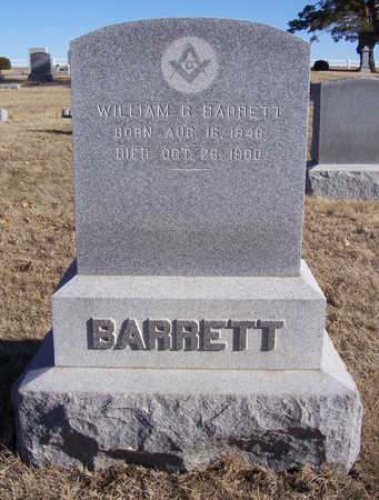BARRETT, WILLIAM GALEN - Shelby County, Iowa | WILLIAM GALEN BARRETT