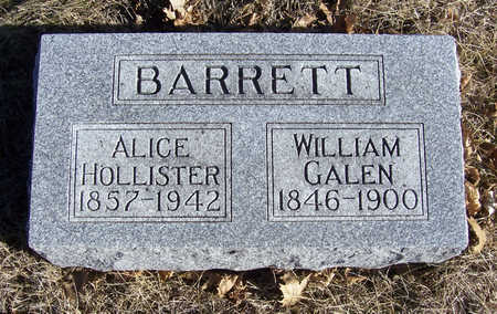 BARRETT, ALICE - Shelby County, Iowa | ALICE BARRETT