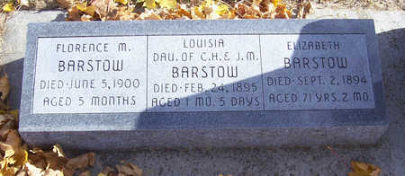 BARSTOW, LOUISA - Shelby County, Iowa | LOUISA BARSTOW