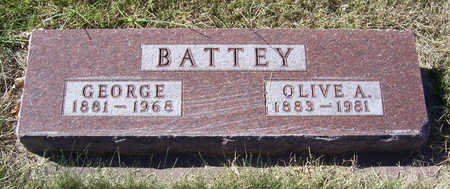 BATTEY, OLIVE A. - Shelby County, Iowa | OLIVE A. BATTEY