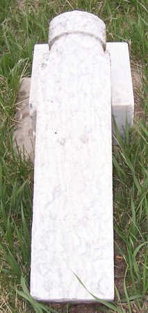 BAUGHMAN, SOPHIA JANETTE - Shelby County, Iowa | SOPHIA JANETTE BAUGHMAN