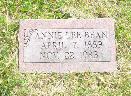 BEAN, ANNIE LEE - Shelby County, Iowa | ANNIE LEE BEAN