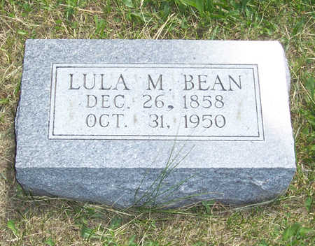 BEAN, LULA M. - Shelby County, Iowa | LULA M. BEAN