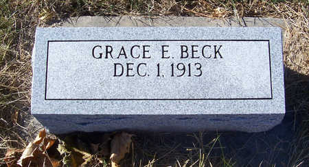BECK, GRACE E. - Shelby County, Iowa | GRACE E. BECK