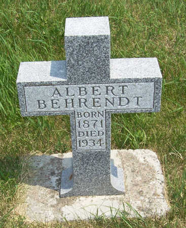 BEHRENDT, ALBERT - Shelby County, Iowa | ALBERT BEHRENDT