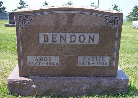 O'BANION BENDON, HATTIE - Shelby County, Iowa | HATTIE O'BANION BENDON