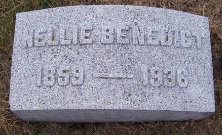BENEDICT, NELLIE - Shelby County, Iowa   NELLIE BENEDICT