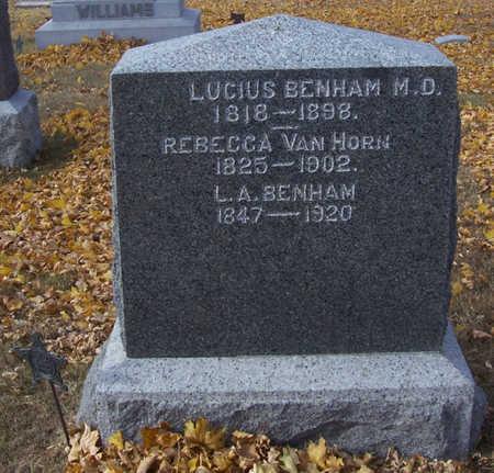 BENHAM, L. A. - Shelby County, Iowa | L. A. BENHAM