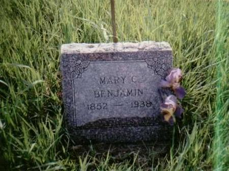BENJAMIN, MARY C. - Shelby County, Iowa | MARY C. BENJAMIN