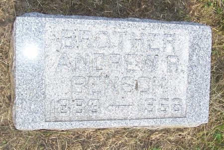BENSON, ANDREW R. - Shelby County, Iowa | ANDREW R. BENSON