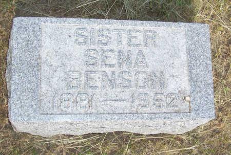 BENSON, SENA - Shelby County, Iowa | SENA BENSON