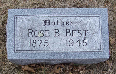 BEST, ROSE B. (MOTHER) - Shelby County, Iowa | ROSE B. (MOTHER) BEST