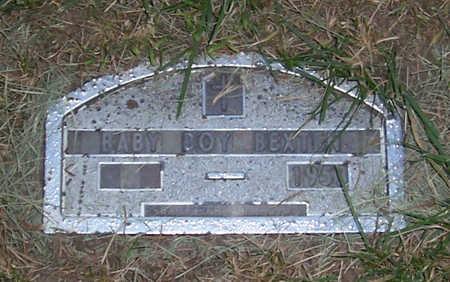 BEXTEN, BABY BOY 1953 - Shelby County, Iowa | BABY BOY 1953 BEXTEN