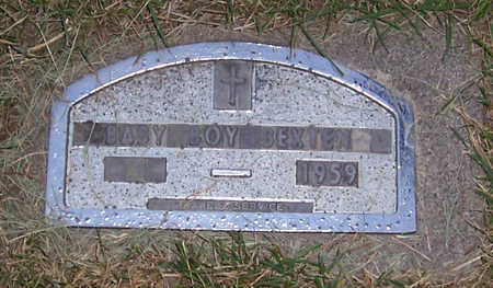 BEXTEN, BABY BOY 1959 - Shelby County, Iowa | BABY BOY 1959 BEXTEN