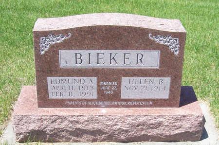 BIEKER, HELEN B. - Shelby County, Iowa | HELEN B. BIEKER