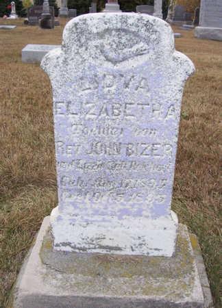 BIZER, LIDVA ELIZABETHA - Shelby County, Iowa | LIDVA ELIZABETHA BIZER