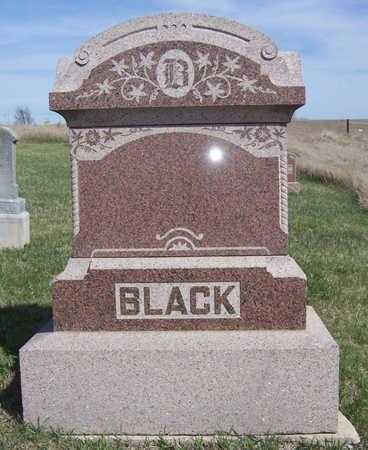 BLACK, [FAMILY PLOT] - Shelby County, Iowa | [FAMILY PLOT] BLACK