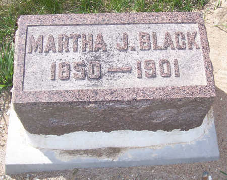 BLACK, MARTHA J. - Shelby County, Iowa | MARTHA J. BLACK