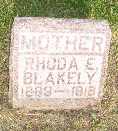 BLAKELY, RHODA E. - Shelby County, Iowa | RHODA E. BLAKELY