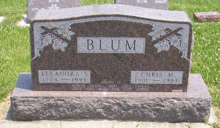 BLUM, CHRIS M. - Shelby County, Iowa | CHRIS M. BLUM