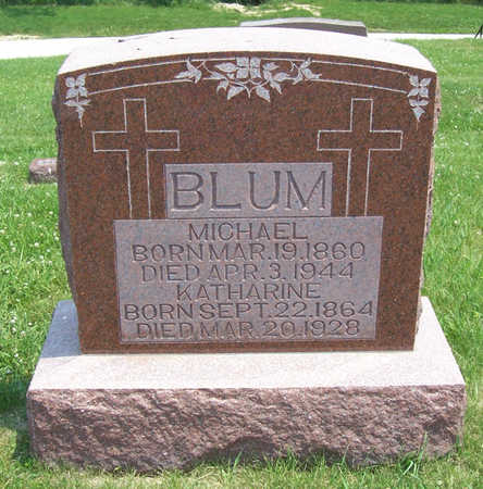 BLUM, MICHAEL - Shelby County, Iowa | MICHAEL BLUM
