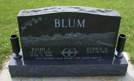 LEINEN BLUM, EUNICE A. - Shelby County, Iowa | EUNICE A. LEINEN BLUM