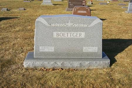 ROCK BOETTGER, BERTHA CAROLINE - Shelby County, Iowa | BERTHA CAROLINE ROCK BOETTGER