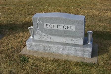 BOETTGER, WALTER LOUIS - Shelby County, Iowa | WALTER LOUIS BOETTGER