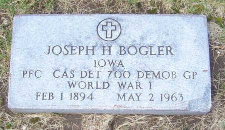 BOGLER, JOSEPH H. (MILITARY) - Shelby County, Iowa | JOSEPH H. (MILITARY) BOGLER