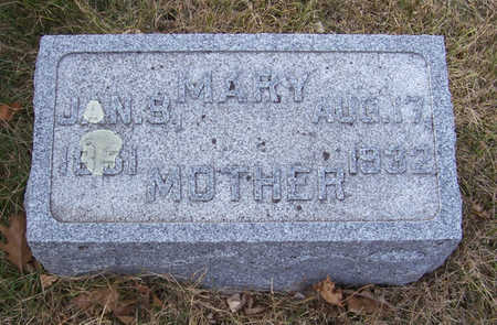 BOHLANDER, MARY (MOTHER) - Shelby County, Iowa | MARY (MOTHER) BOHLANDER