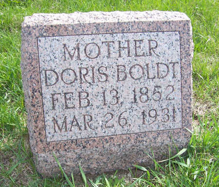 BOLDT, DORIS T. - Shelby County, Iowa | DORIS T. BOLDT