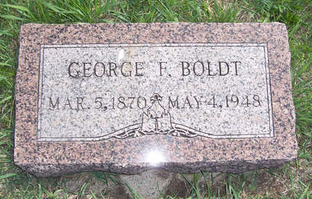 BOLDT, GEORGE F. - Shelby County, Iowa | GEORGE F. BOLDT