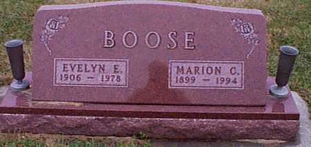 BOOSE, MARION C. - Shelby County, Iowa | MARION C. BOOSE